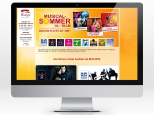 Landingpage Musical-Summer